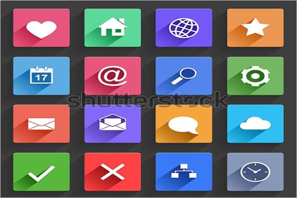 Retro App Icon Design