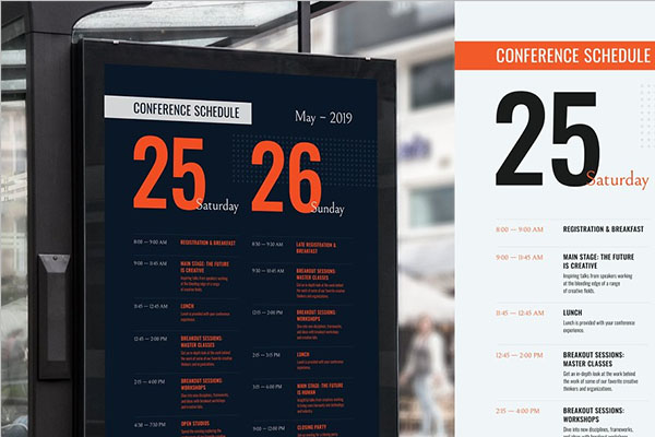 Simple Conference Poster Templates
