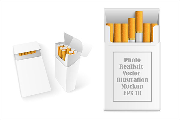 Smoking Cigarette Mockups