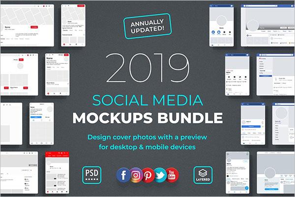 Social Media Mockup Post