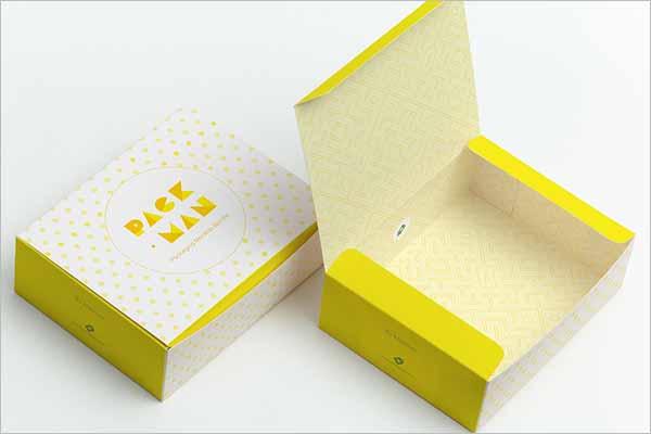 Sweet Box Design Vector