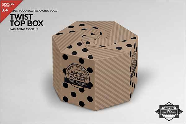 Twist Box Packaging Design