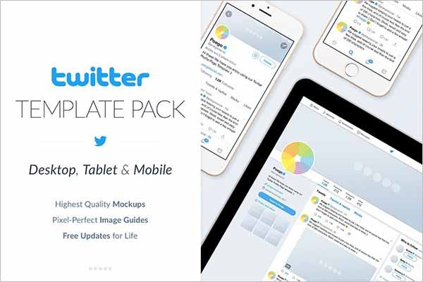 TwitterSocial Media Template