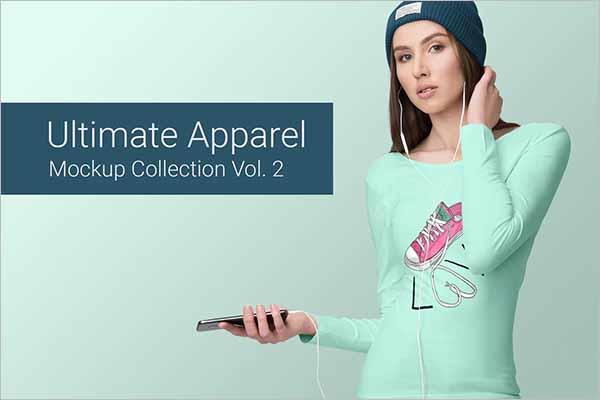 Ultimate Apparel Clothing Mockup Design