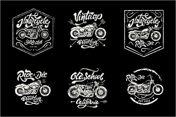 Vintage style Motorcycle Logo