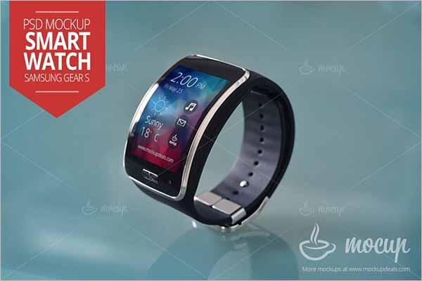 Watch Mockup Vector Design