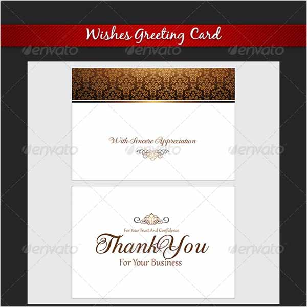 Weeding Thank You Card Template