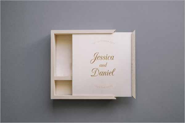 Wooden Box Template Free PSD