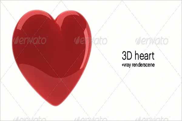 3D Heart Object Model