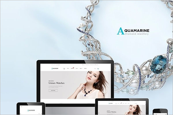 Awesome Jewelry PrestaShop Template