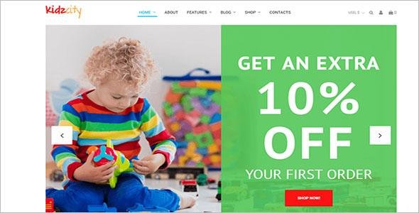 Baby Accessories Ecommerce Theme