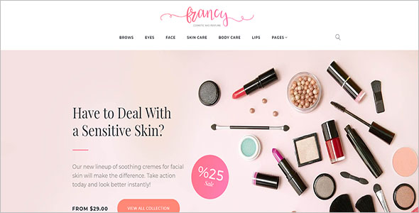 Beauty Francy WooCommerce Theme