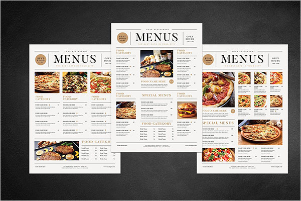 Best Free Menu Templates