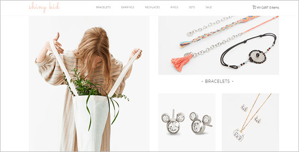 Children Jewelry WooCommerce Theme