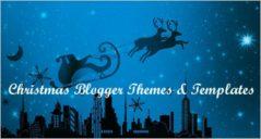 12+ Christmas Blogger Backgrounds