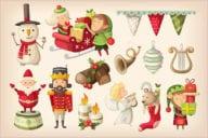 Christmas House Scene Decoration