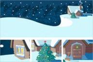 Christmas Scene Wallpaper