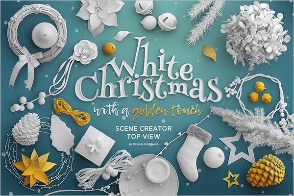 Christmas Top View Scene Creator