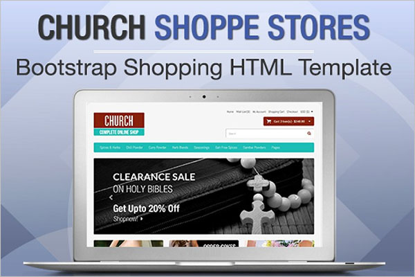 Church Bootstrap Design