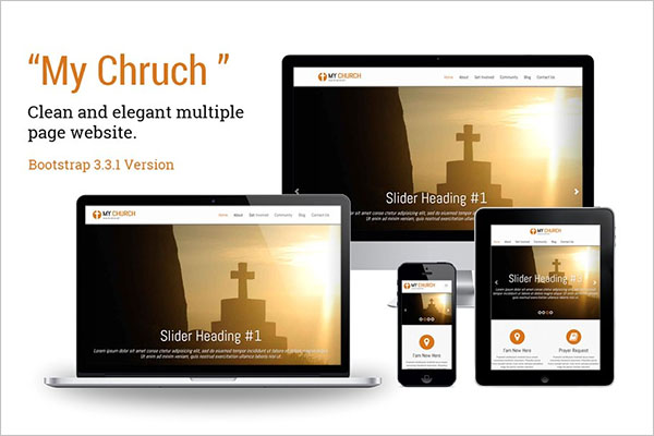 Church Responsive Template