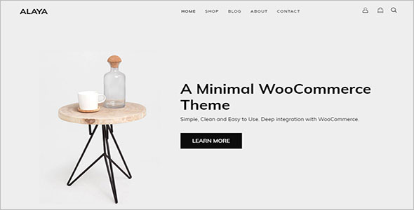 Creative Minimalist Shop Theme