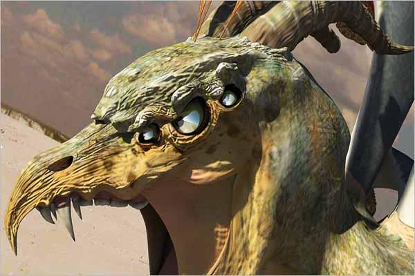 Crunching Dragon 3D Design