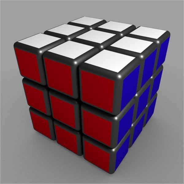 Cubic 3D Object Design