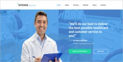 Dental Clinic Website Template