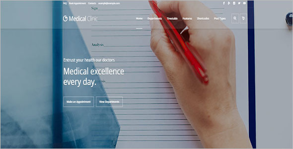 Doctor Medical WordPress Theme