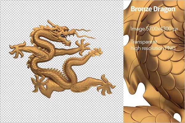 Dragon 3D Image Model