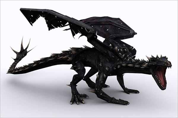 Dragon Model 4D Design