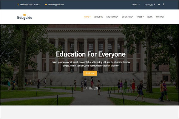 Education HTML Template Everyone
