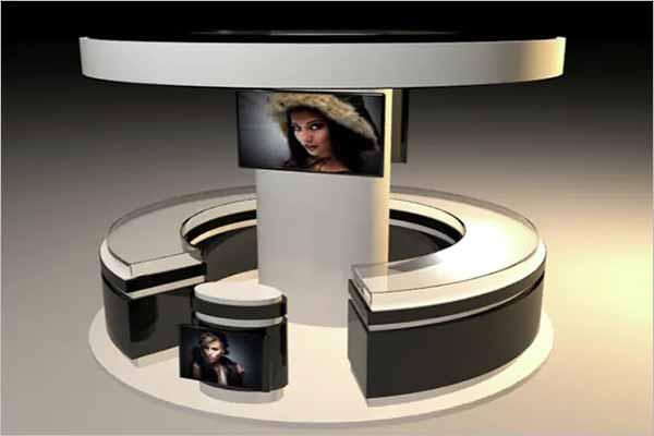 Exhibition Stand 3D Design