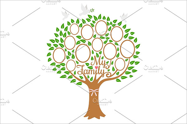 Family tree generation templates