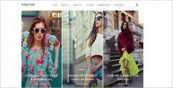 Fashion Daily WordPress Theme