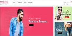 Fashion Sesonal WordPress Theme