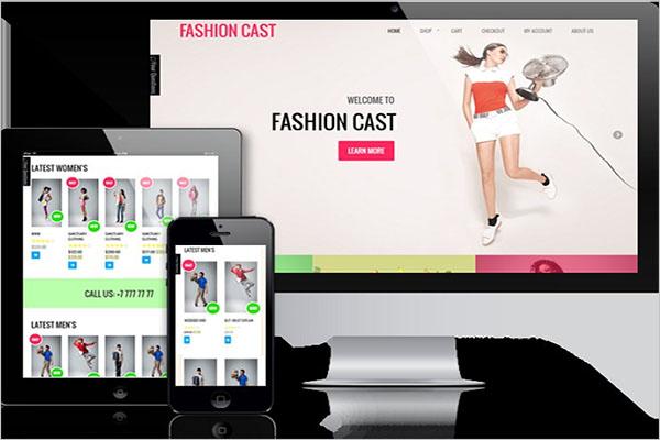 Fashion Woo Commerce Theme