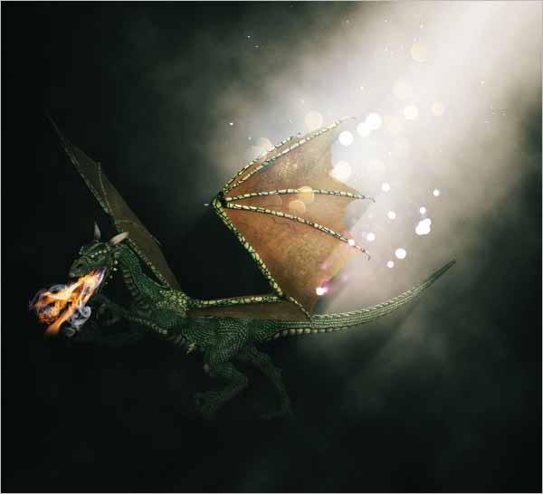 Fire Breathing Dragon Free Photo