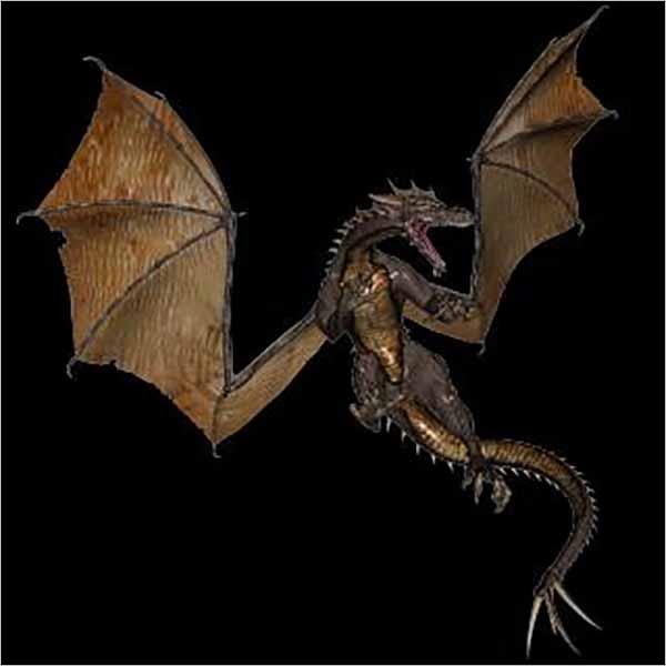 Free Black Background Dragon
