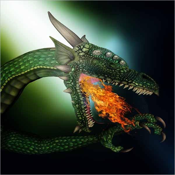 Free Fantasy Dragon Design