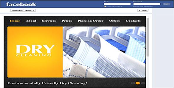 Free Laundry WordPress Theme