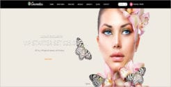 Fully Responsive Cosmetic eCommerce Theme