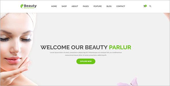Health & Beauty Website Template