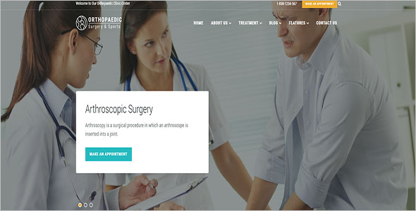 Healthcare Website Template