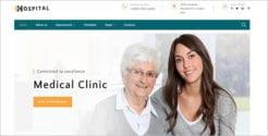 Hospital Medical Service Website Template