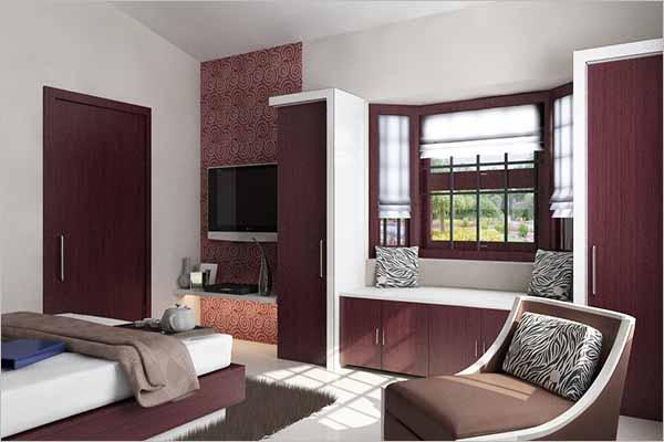 Interior 3D Design For Bedroom