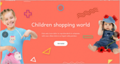21+ Kids Store eCommerce Themes