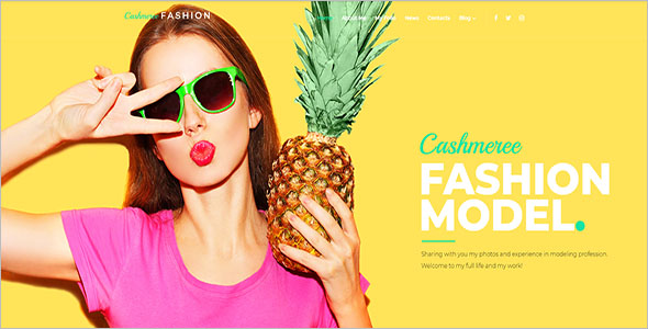 Latest Fashion WordPress Theme
