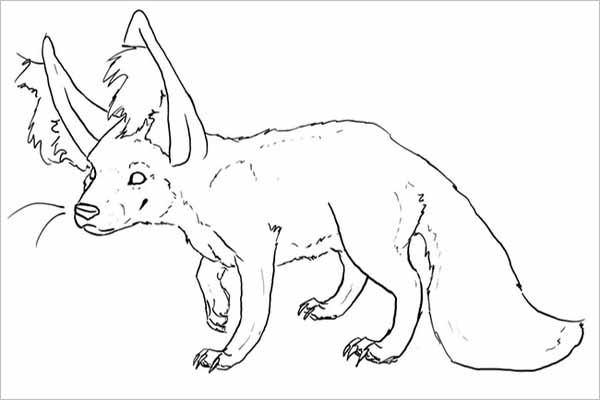 Latest Printable Fox Templates