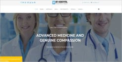 Medical Service Website Template